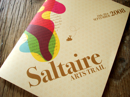 Saltaire Arts Trail brochure
